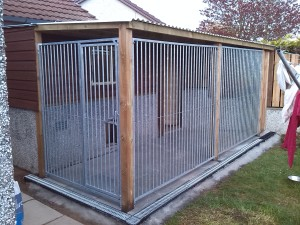 Shed and kennel A